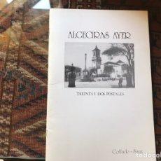 Libros: ALGECIRAS AYER. TREINTA Y DOS POSTALES. COLLADO- SANZ. BUEN ESTADO. MUY DIFÍCIL. Lote 178991802