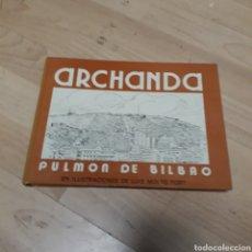 Libros: ARGANDA, PULMÓN DE BILBAO, ILUSTRACIONES LUIS MONTÓ TORT. Lote 179188347