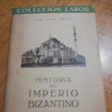 Libros: HISTORIA DEL IMPERIO BIZANTINO, KARL ROTH. Lote 179209886