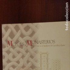 Libros: MONJES Y MONASTERIOS. EL CÍSTER EN EL MEDIEVO DE CASTILLA Y LEÓN. ISIDRO G. BANGO TORVISO.. Lote 179212503
