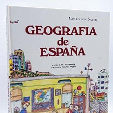 Libros: GEOGRAFÍA DE ESPAÑA (PRIMERA EDICIÓN) - JOSEP MARIA PANAREDA; PILARÍN BAYÉS (IIUSTR.). Lote 179286733