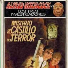 Libros: ALFRED HITCHCOCK Y LOS TRES INVESTIGADORES. MISTERIO EN EL CASTILLO DEL TERROR - ROBERT ARTHUR. Lote 179294955