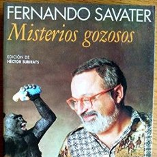 Libri di seconda mano: MISTERIOS GOZOSOS (SPANISH EDITION) - FERNANDO SAVATER. Lote 179296740