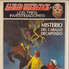 Libros: MISTERIO DEL CABALLO DECAPITADO - (ALFRED HITCHCOCK Y LOS TRES INVESTIGADORES VOL. 26) - ROBERT ARTH. Lote 179298736