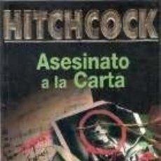 Libros: ASESINATO A LA CARTA - ALFRED HITCHCOCK. Lote 179301478