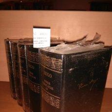 Libros: LOS MISERABLES. (4 VOLUMENES) - VICTOR HUGO. Lote 151830765
