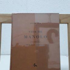 Libros: VIDA DE MANOLO. CONTADA PER ELL MATEIX - JOSEP PLA. Lote 179356306