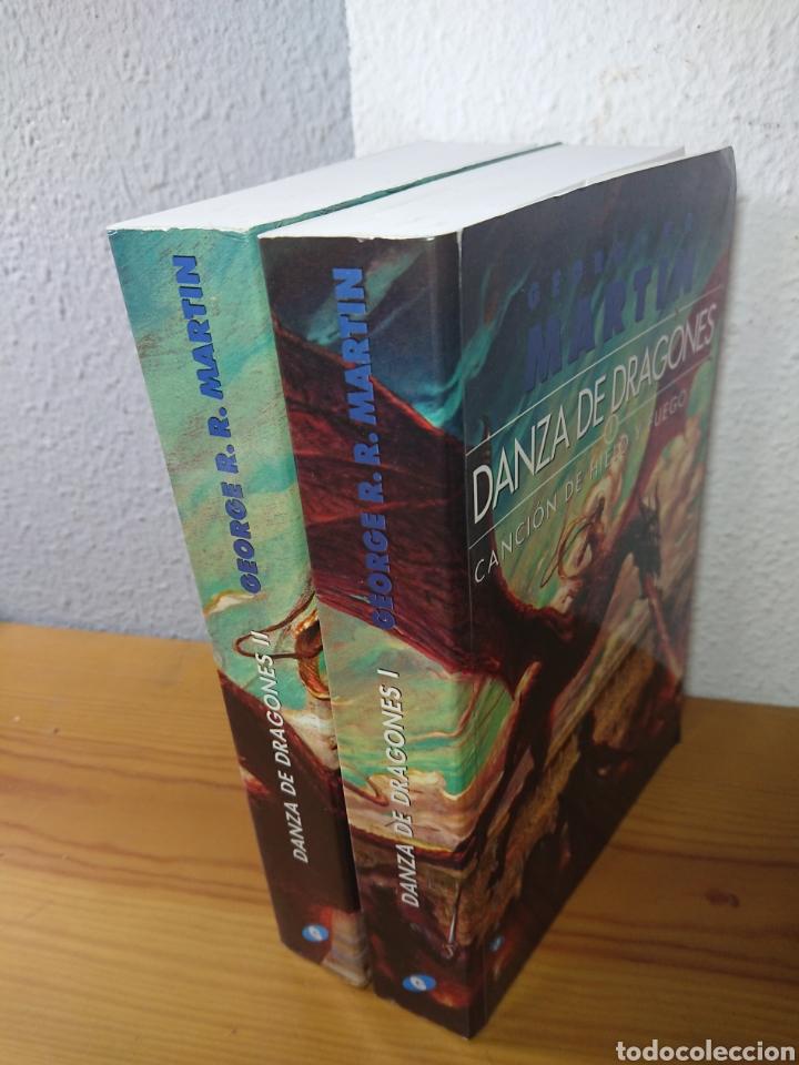 Libros: Danza de Dragones, George R.R. Martin, Tomos I y II - Foto 2 - 179397147