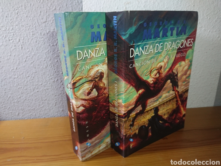 DANZA DE DRAGONES, GEORGE R.R. MARTIN, TOMOS I Y II (Libros sin clasificar)