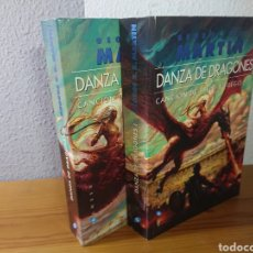 Libros: DANZA DE DRAGONES, GEORGE R.R. MARTIN, TOMOS I Y II. Lote 179397147