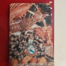 Libros: CLUB GASTRONÓMICO RIAS ALTAS GUIA CULINARIA LA CORUÑA Y PROVINCIA. Lote 179520552