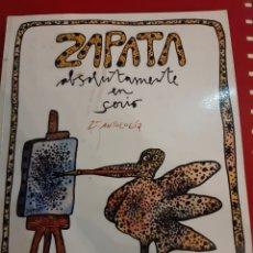 Libros: ZAPATA ABSOLUTAMENTE EN SERIO 2 ANTOLOGÍA PUBLICADA SELEVEN. Lote 179525455