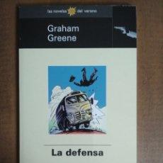 Libros: GRAHAM GREENE - LA DEFENSA - LAS NOVELAS DEL VERANO DE EL MUNDO 37. Lote 179537931