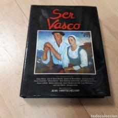 Libros: JEAN HARITSCHELHAR, SER VASCO,MENSAJERO. Lote 179538465