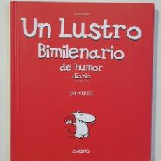 Libros: UN LUSTRO BIMILENARIO DE HUMOR DIARIO.EN CASTILLA LEON - JM NIETO - AMBITO - TDK130. Lote 179552990
