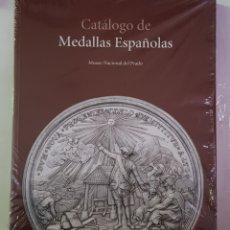 Libros: CATÁLOGO DE MEDALLAS ESPAÑOLAS, MUSEO NACIONAL DEL PRADO, MARINA CANO CUESTA,- NUEVO - TDK144. Lote 179554821
