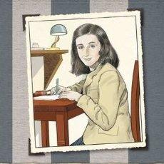 Libros: ANA FRANK - LA BIOGRAFIA GRAFICA - JACOBSON, COLON. Lote 179589662