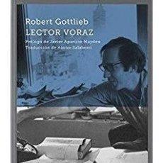 Libros: LECTOR VORAZ - GOTTLIEB, ROBERT. Lote 179663378