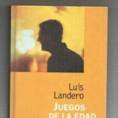 Libros: COLECCION NARRATIVA DE HOY: JUEGOS DE LA EDAD TARDIA. Lote 180010596