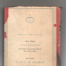 Libros: ANASTASIA. Lote 180010622