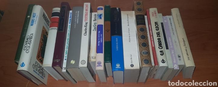 LOTE 20 LIBROS VARIADOS (Libros sin clasificar)