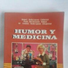 Libros: HUMOR Y MEDICINA CHISTES VIÑETAS. Lote 180036877