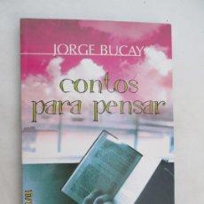 Libros: CONTOS PARA PENSAR - JORGE BUCAY - PERGAMINHO 2004. EDICIÓN EN PORTUGUÉS.. . Lote 180039356