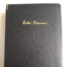 Libros: VICKI BAUM TOMO III. Lote 180043373