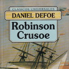 Libros: ROBINSON CRUSOE - DEFOE, DANIEL. Lote 180082301