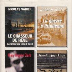 Libros: LE CHASSEUR DE REVE. LA GUERRE À L'ITALIENNE. TOI QUE J'AIMAIS TANT. LE ROI DE CLIPPERTON - VANIER, . Lote 180082306