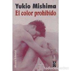 Libros: EL COLOR PROHIBIDO - MISHIMA, YUKIO. Lote 180132188