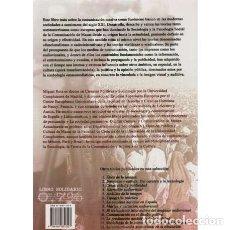 Libros: SOCIOLOGÍA DE LA COMUNICACIÓN Y CULTURA DE MASAS - ROIZ, MIGUEL. Lote 180132245