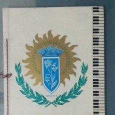 Libros: PROGRAMA PLAZA DEL SOL (BARCELONA). FIESTA MAYOR AÑO 1960.. Lote 180136117