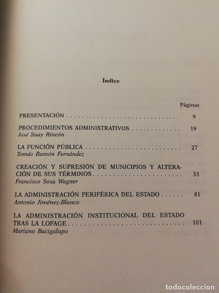 Libros: LA ADMINISTRACIÓN PÚBLICA: REFORMA Y CONTRARREFORMA (ANTONIO JIMÉNEZ - BLANCO / JOSÉ RAMÓN PARADA) - Foto 3 - 180174963