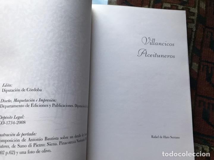 Libros: Villancicos aceituneros. Como nuevo - Foto 4 - 180245307