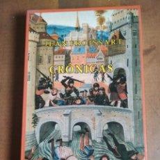 Libros: JEAN FROISSART - CRÓNICAS - SIRUELA - SELECCIÓN DE LECTURAS MEDIEVALES 27. Lote 180327397