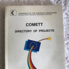 Libros: COMMET DIRECTORY OF PROJECTS 1987. Lote 180331530