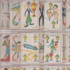 Libros: BARAJA COMPLETA. CINE MANUAL. 48 NAIPES. AÑOS 20. Lote 180334667