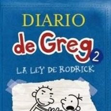 Libros: DIARIO DE GREG 2 - LEY DE RODRICK - RBA - KINNEY. Lote 180587932