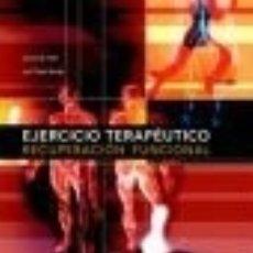 Libros: EJERCICIO TERAPEUTICO RECUPERACION FUNCIONAL - PAIDOTRIBO - HALL. Lote 180589580