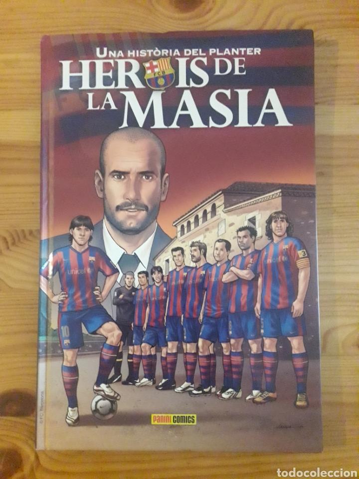 UNA HISTORIA DEL PLANTER HEROIS DE LA MASIA BARÇA FC BARCELONA (Libros sin clasificar)