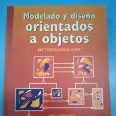 Libros: MODELADO Y DISEÑO ORIENTADOS A OBJETOS. METODOLOGÍA OMT. JAMES RUMBAUGH VVAA. Lote 180875378