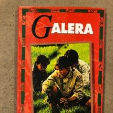Libros: GALERA. ZHANG JIE. EDITORIAL TXALAPARTA 1995. 146 PÁGINAS.. Lote 180899796