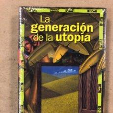 Libros: LA GENERACIÓN DE LA UTOPÍA. ARTUR PESTAÑA, PEPETELA. EDITORIAL TXALAPARTA. NUEVO.. Lote 180899918