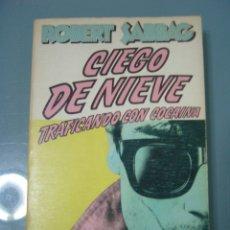 Libros: CIEGO DE NIEVE. Lote 180904178