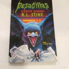 Livros em segunda mão: PESADILLAS 2000 7:VENGANZAS.EDIC - STINE, R.L.. Lote 180909053