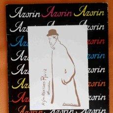Libros: LIBRO FOLLETO SOBRE LA CASA-MUSEO DE AZORÍN, EN MONÓVAR (ALICANTE).. Lote 181004013