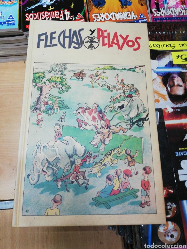 Libros: Flechas y Pelayos (6 tomos) completa edita agualarga - Foto 2 - 181511552