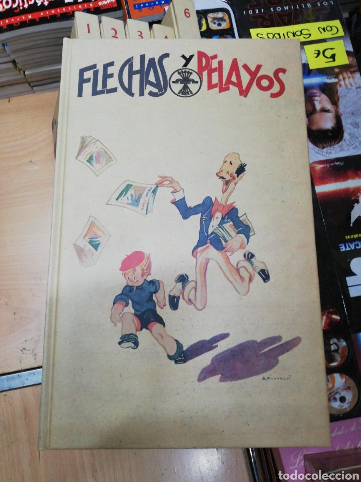 Libros: Flechas y Pelayos (6 tomos) completa edita agualarga - Foto 6 - 181511552