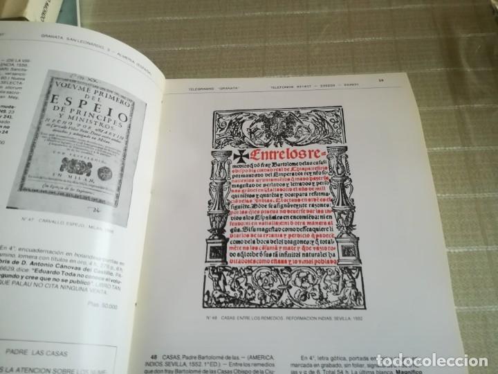 Libros: GRANATA: LIBROS ANTIGUOS CATALOGO SIGLO XVI - Foto 3 - 181555531